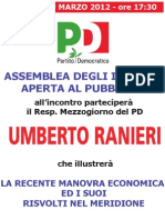 2012 03 26 Manifesto Ranieri