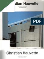 Catalogos de Arquitectura Contemporanea - Christian Hauvette
