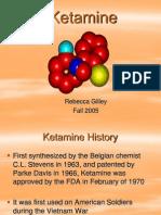 Ketamine Presentation.ppt Revised