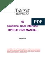 H3 GUI Manual
