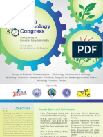 Indian Technology Congress Brochure