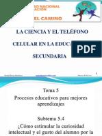 El telefono celular en la educacion secundaria