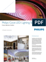 Philips Cove-LED Lighting Solutions Product Application Guideline