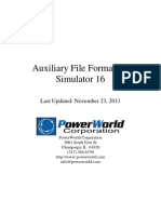 Auxiliary File Format