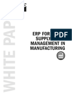ERP for Green Supply Chain