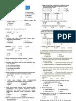 Soal Statistika Deskriptif Semester 2