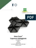 Hexa-Cover(R) Copertura Galleggiante Acqua Industria