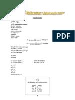 Calculo de Transfpormadores y Auto-Transformadores