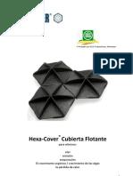Hexa-Cover(R) Cubierta Flotante Agua e Industria