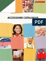Janome Accessoire Catalogus