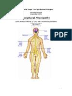 Peripheral Neuropathy Lynda Nirmala Hoffarth