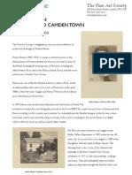 Robert Bevan Press Release