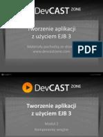 Tworzenie aplikacji z użyciem EJB3