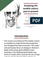 Zombie Culture Time Machine Presentation