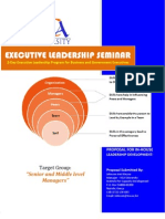 Executive Leadership Seminar[1]