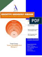 Executive Leadership Seminar[1]