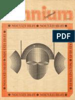 Supliment Tehnium Hi-Fi 1991