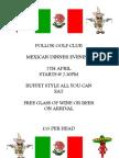 Mexican Dinner Evening