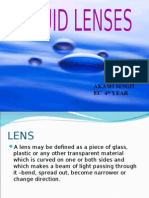 Liquid Lenses Presentation 11111111