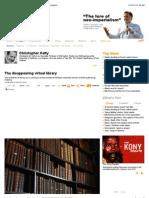 The Disappearing Virtual Library - Opinion - Al Jazeera English