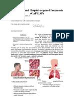 Community and Hospital Pneumonia