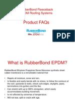 RubberBond FleeceBack EPDM FAQs