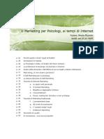 eBook Il Marketing Per Psicologi Ai Tempi Di Internet Ver00!23!11 2009