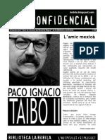 L'H Confidencial, 86. Paco Ignacio Taibo II