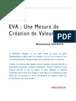 eva une mesure de creation de valeurs