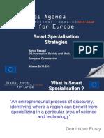 Smart Specialisation Strategies (Eng)/ Estrategias de Especialización Inteligente (Ing)/ Espezializaio Inteligentearen Estrategiak (Ing)