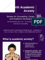 Dealing With Academic Anxiety