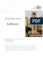 Líbano - UKTRADE - Doing Business in Lebanon