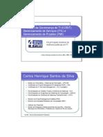 4ª PMI - Os principais modelos de melhores práticas em TI