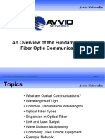 Overview of Optical Communications