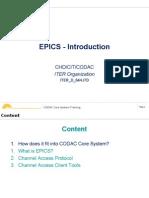 1.3 - EPICS Introduction