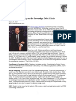 Martin Armstrong on the Sovereign Debt Crisis