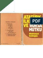 Atatürk İlkeleri ve Bursa Nutku