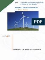 Infra 2009 - Apresentação Monique Freitas - Energia Eólica