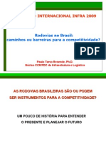 Infra 2009 - Apresentação Paulo de Resende - Rodovias No Brasil