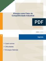 Infra 2009 - Apresentação Ricardo Lima - Energia Competitiva