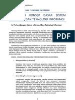 Sistem Nformasi Dan Teknologi Informasi