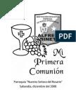 Primera Comunion Alfred Binet 2008