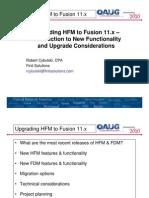Fusion11x Upgrade Presentation Rcybulski Connection Point 2010