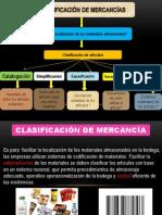 Clasificación de mercancía