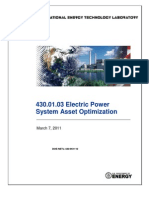Electrical Asset Optimization DoE