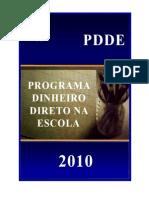 Manual Programa Dinheiro Direto Na Escola PDDE