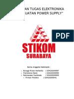 Laporan Tugas Elektronika(Power Supply)