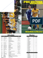 2010 Girls Soccer Program