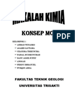 MAKALAH KONSEP MOL