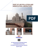 Annual Report of Air Pollution and Stone Conservation Laboratory
